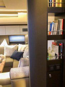 Yacht interior - DOUBLESTAR