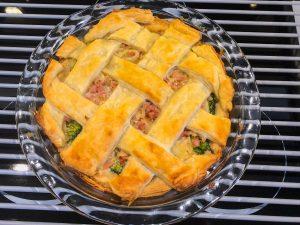 Broccoli Gorgonzola Pie