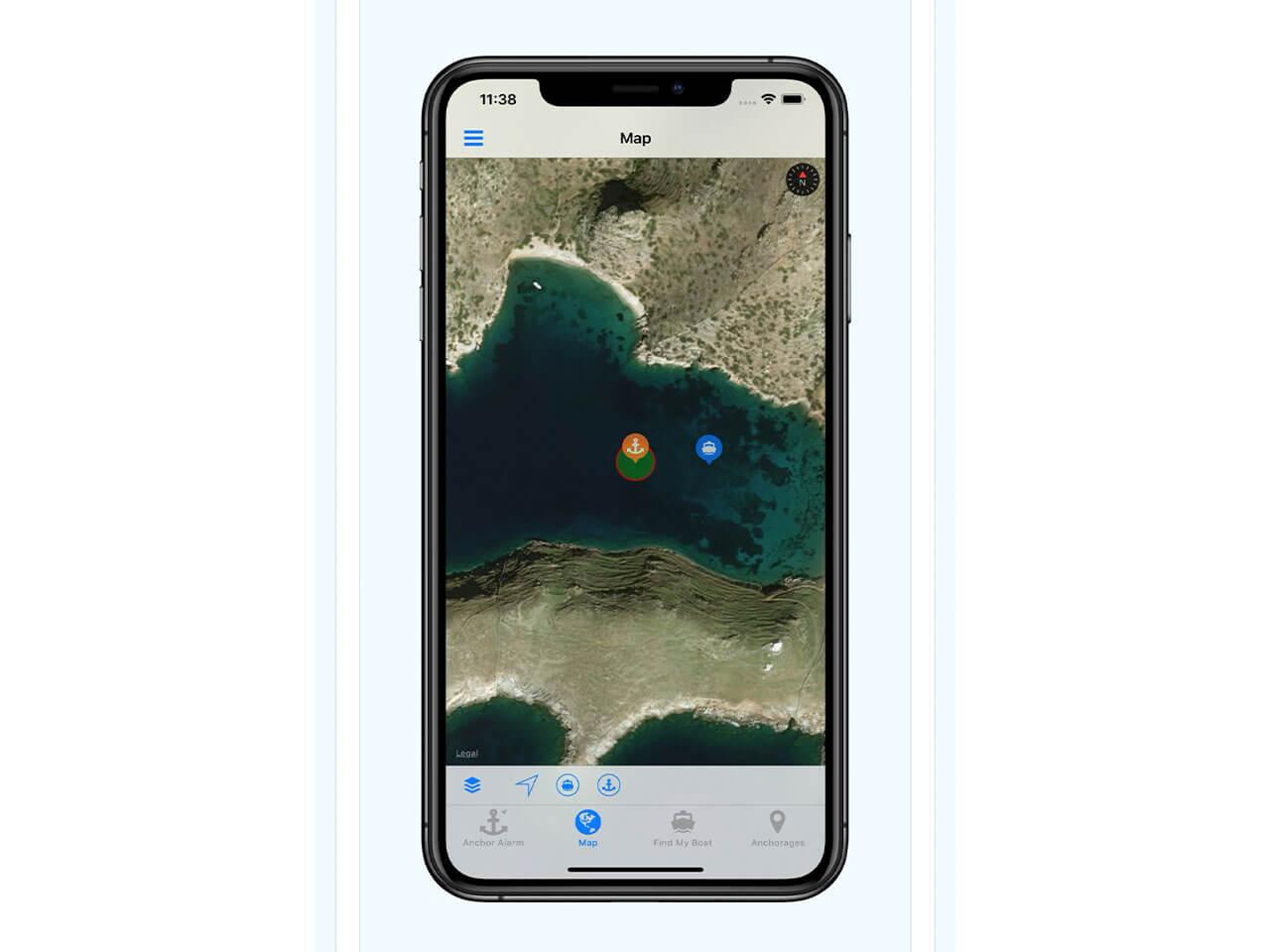 Anchor Alarm App